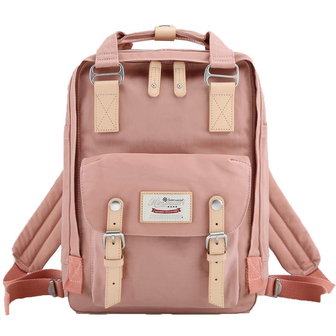 Himawari School Functional Travel Backpack for Women Waterproof 15 Inch Laptop Bag for College (HIM-23#) by himawari
