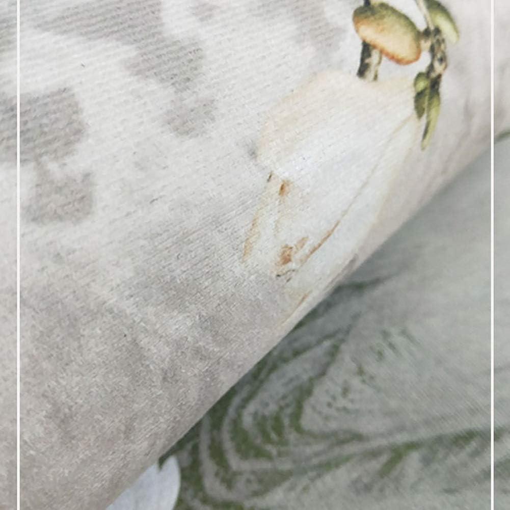 GuoWei Corredor Alfombra Antideslizante Pelo Corto Abstracto ...