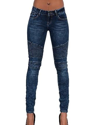 Kasen Mujer Pantalones Vaquero Skinny Push Up Pantalones Elástico Jeans