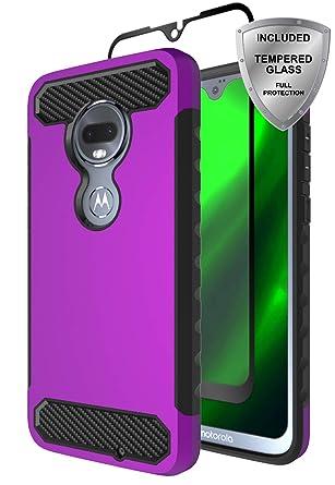 Amazon.com: ChangeJ - Carcasa híbrida para Motorola Moto G7 ...