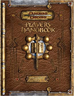 Dungeons and dragons 3.5 books