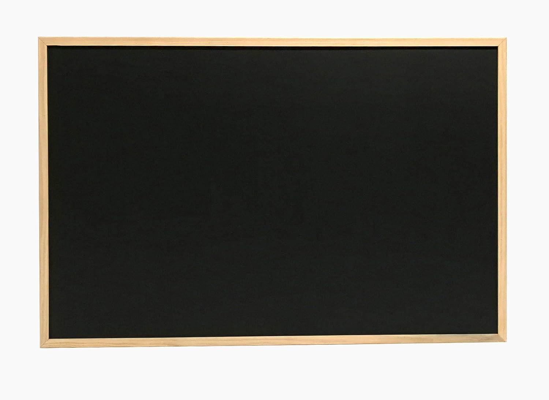 alberghiero e bacheca Adatto per luso con Gesso e Pennarello per Lavagna. Ideale per Uso educativo incorniciata con Legno Massiccio Chely Intermarket Lavagna Nera 90 x 60 cm