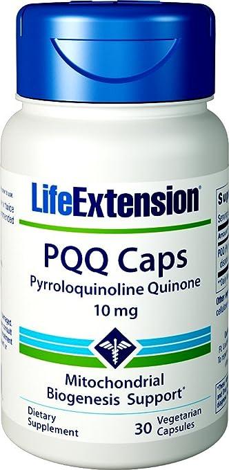 Cápsulas Life Extension PQQ con BioPQQ, 30 cápsulas vegetarianas de 10 mg: Amazon.es: Salud y cuidado personal