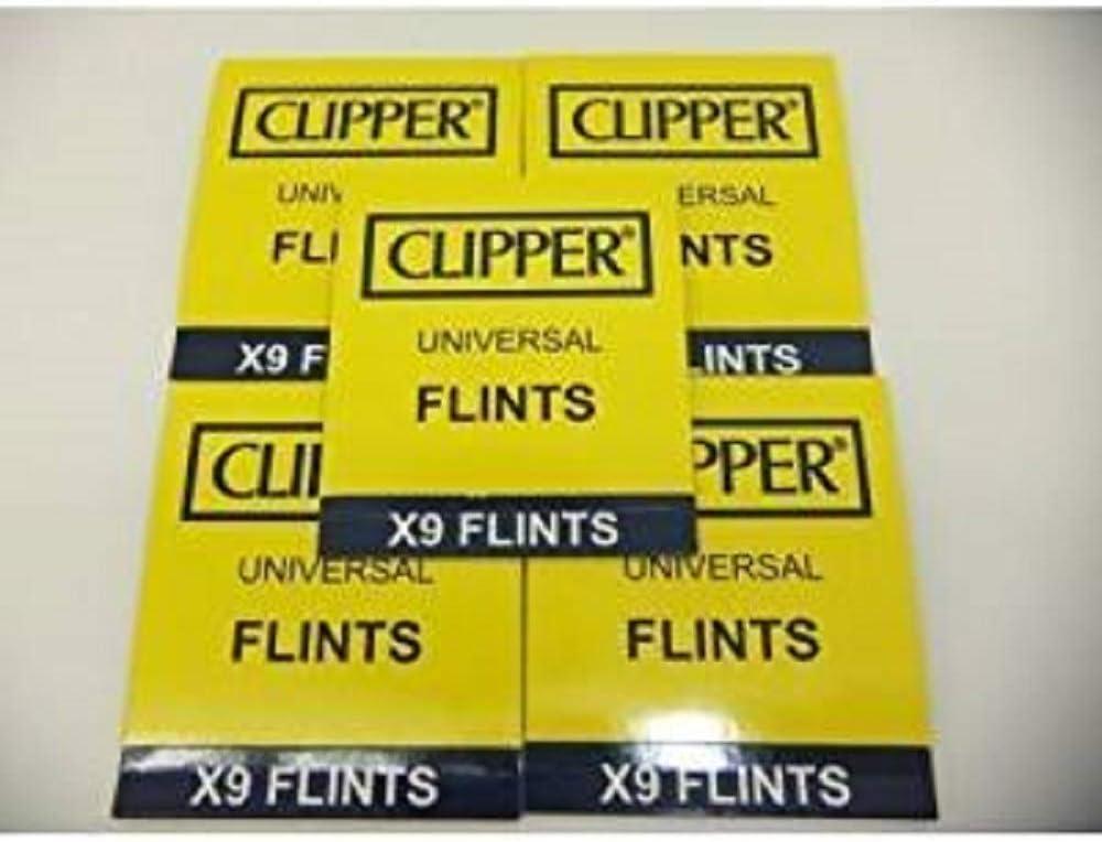 45 Encendedor Clipper Pedernales, Obras con todos los Piedra Encendedores de Incl. Zippo encendedores de
