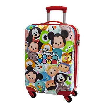 Tsum Tsum Set de Bagages, 67 cm, 86 L, Rose
