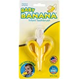 BABY BANANA Infant Toothbrush, Yellow