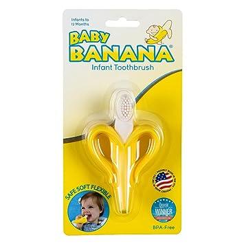 Baby Banana - Yellow Banana Toothbrush