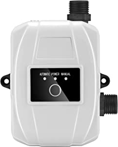 Water Booster Pump Portable Automatic Water Pump Mini Boost Pressure Water Pump 24V Safety Self-priming Booster Pump with Automatic Flow Switch for Home Faucet Bathroom Shower Water Heater