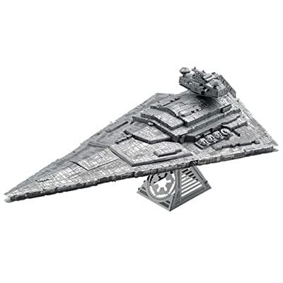 Fascinations Metal Earth ICONX Star Wars Imperial Star Destroyer 3D Metal Model Kit: Toys & Games