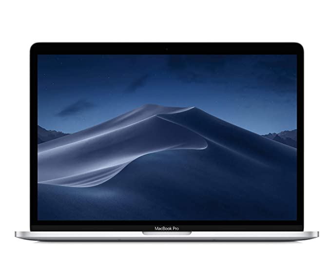 Apple MacBook Pro (13-inch Retina, Touch Bar, 2.3GHz Quad-Core Intel Core i5, 8GB RAM, 256GB SSD) - Silver at amazon