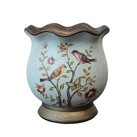 225 & Amazon.com: Vintage Classic Ceramic Vase for Flowers Green Plant ...