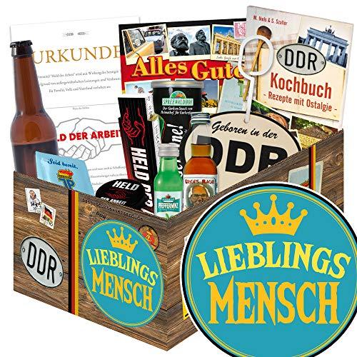 Lieblingsmensch / Männer Box DDR / Geschenkeset Liebling
