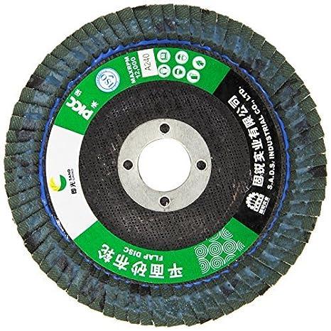 eDealMax 240# Pulido Flap lijado abrasivo ruedas de Disco (10 piezas), 100mm: Amazon.com: Industrial & Scientific