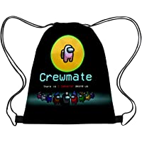 Fadwud Unisex Gym Drawstring Bag Impostor Game Bag Men And Women Backpack Sport Bag Yoga Bag