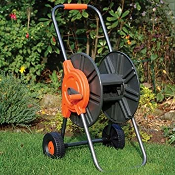 garden hose reel cart. Greenkey 60m Hose Reel Cart Garden