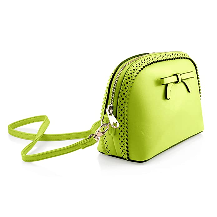 Amazon.com: Gearonic TM Fashion Mujeres Bolso Lazo bolsas de ...