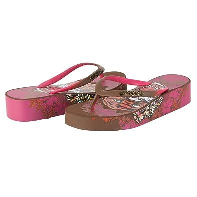2430a9845966 Ed Hardy Women s Kim Flip Flop Sandal (7