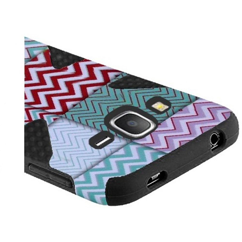 fb4f3f42972 HR Wireless Funda de Transporte para Samsung Galaxy Grand Prime LTE -  Embalaje de Venta - Chevron/Negro: Amazon.com.mx: Electrónicos