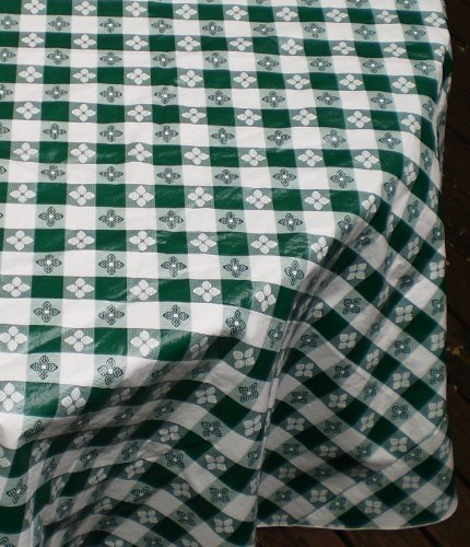 Blue Hill, Classic Green Tavern Check, Flannel Backed, Seamed, 90