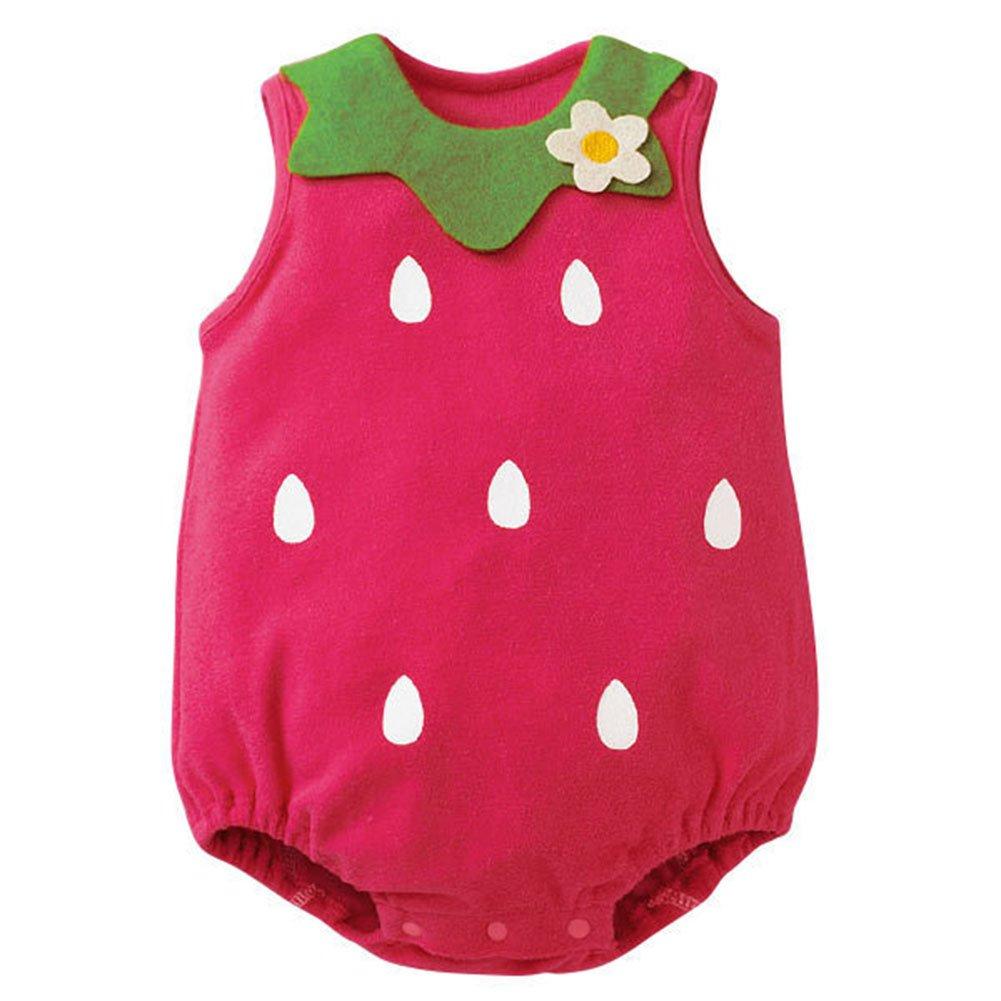 514f4c3ddcca Amazon.com  EFINNY Infant Baby Girls Kids Cartton Shorts Sleeveless ...