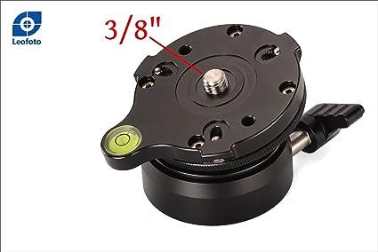 Leofoto Lb 66b 66 Mm Leveling Base Für Stativ Fluid Kamera