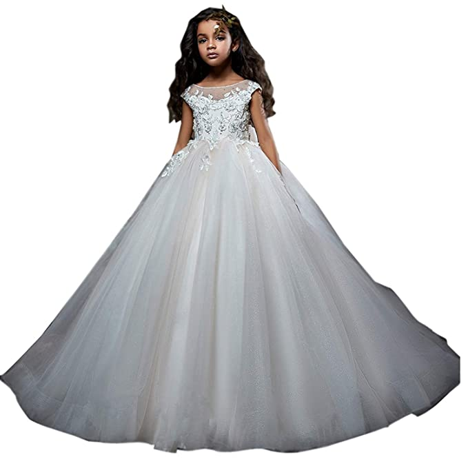 Amazon.com: Magicdress 241 - Vestido de primera comunión ...