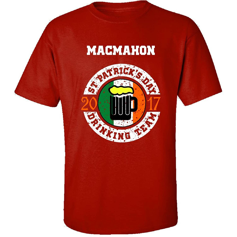 St Patricks Day Macmahon 2017 Drinking Team Irish - Adult Shirt