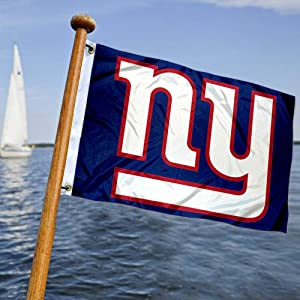 WinCraft New York Giants Boat and Golf Cart Flag