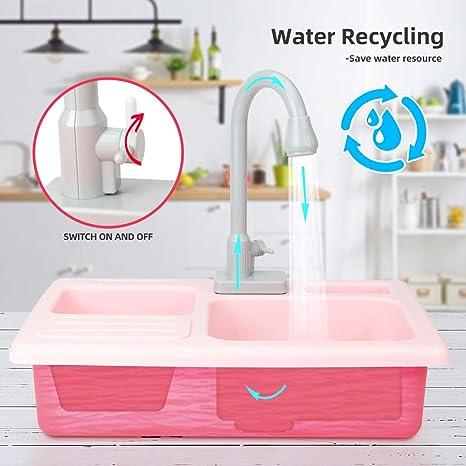 Elektrisches automatisches Wasserkreislaufsystem  Kinder Spülmaschine