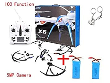 Blueskysea regalo libre + JJRC H16 Tarantula X6 drone 4CH RC ...
