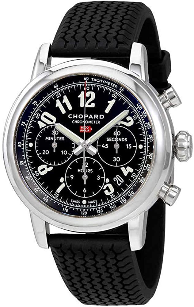 Chopard Mille Miglia Chronograph Black Dial Men's Watch 168589-3002
