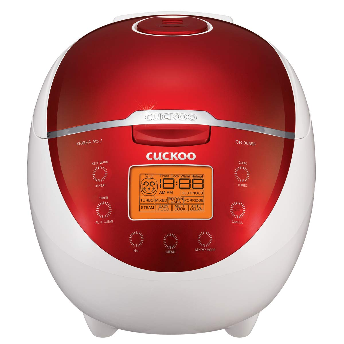 Cuckoo CR-0655F Rice Cooker 1.08 Liters / 1.5 Quarts
