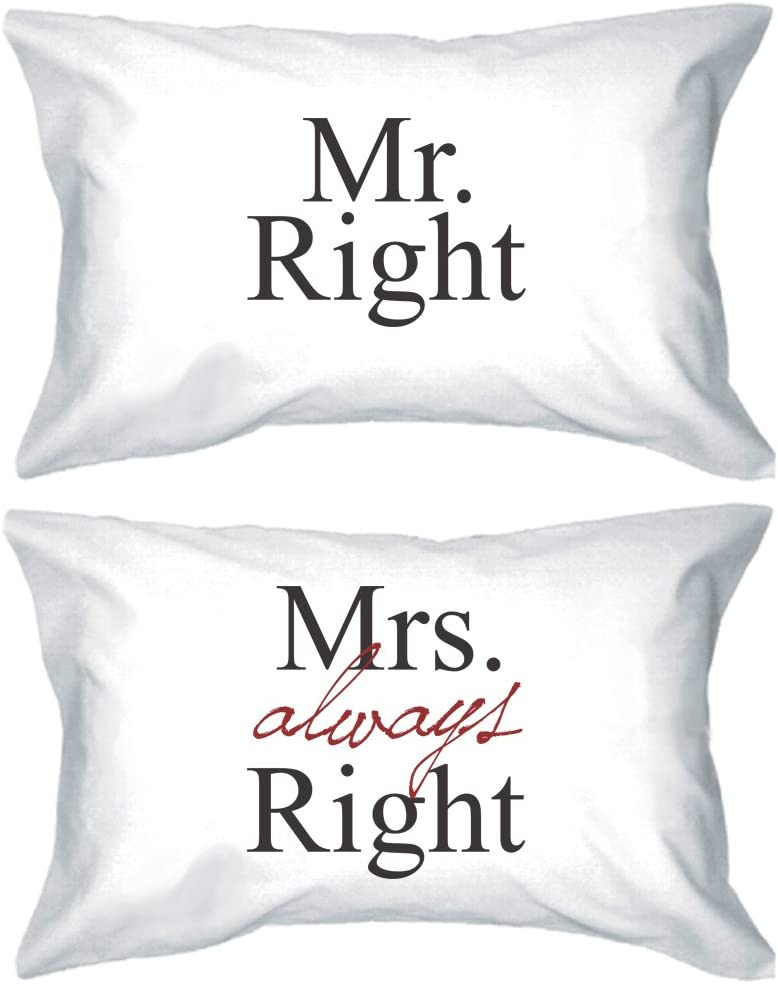 His and Hers Pillowcases 220 Thread