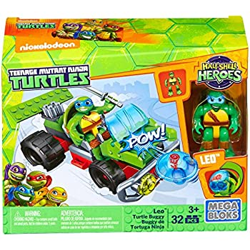 Amazon.com: Mega Bloks Teenage Mutant Ninja Turtles Half ...