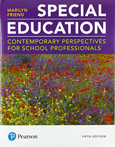 Special Education: Contemporary Perspectives for School Professionals plus MyLab Education with Pearson eText -- Access Card Package (5th Edition) (What's New in Special Education)
