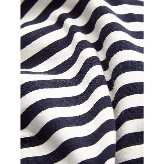 Striped 21101666 Ladies Top uk Sandwich co Sleeved Amazon Long TUB41