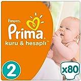 Prima Bebek Bezi Kuru ve Hesaplı 2 Beden Mini Mega Paket 80 Adet