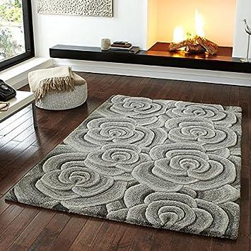 Valentine Rugs Vl10 Teppich Handarbeit Aus Wolle Hellgrau Grau