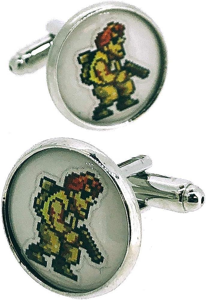 Gemelos para Camisa Metal Slug Personaje Modelo II: Amazon.es: Ropa y accesorios