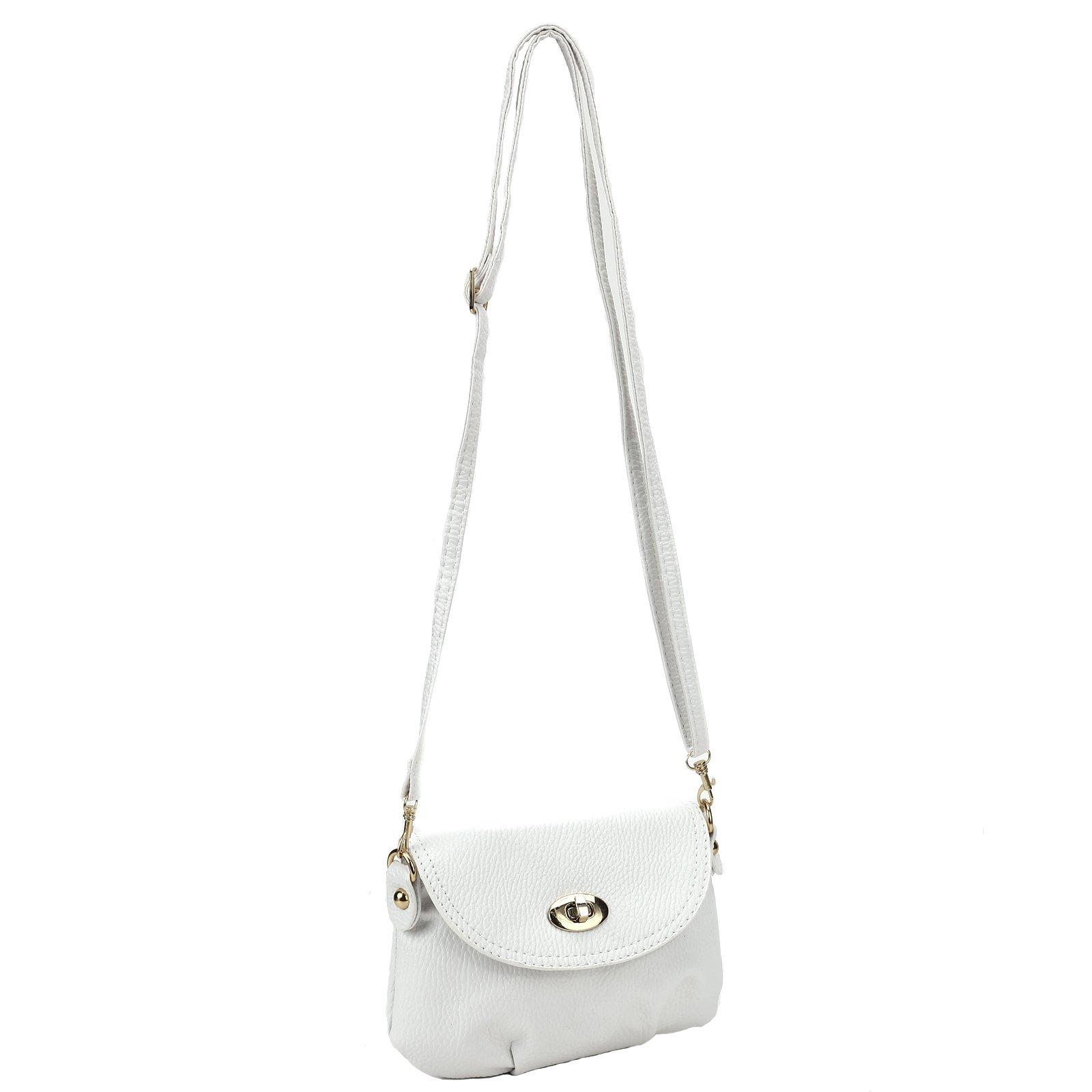 Ladies Mini SMALL Handbag Envelope Crossbody Shoulder Messenger Totes Bag Purse by Anladia (Image #2)