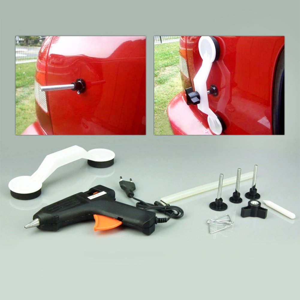 Zehui Hot Melt Glue Gun Thermo Electric Heating Tool for Car Body Paint Repair 12v Three Different Sizes
