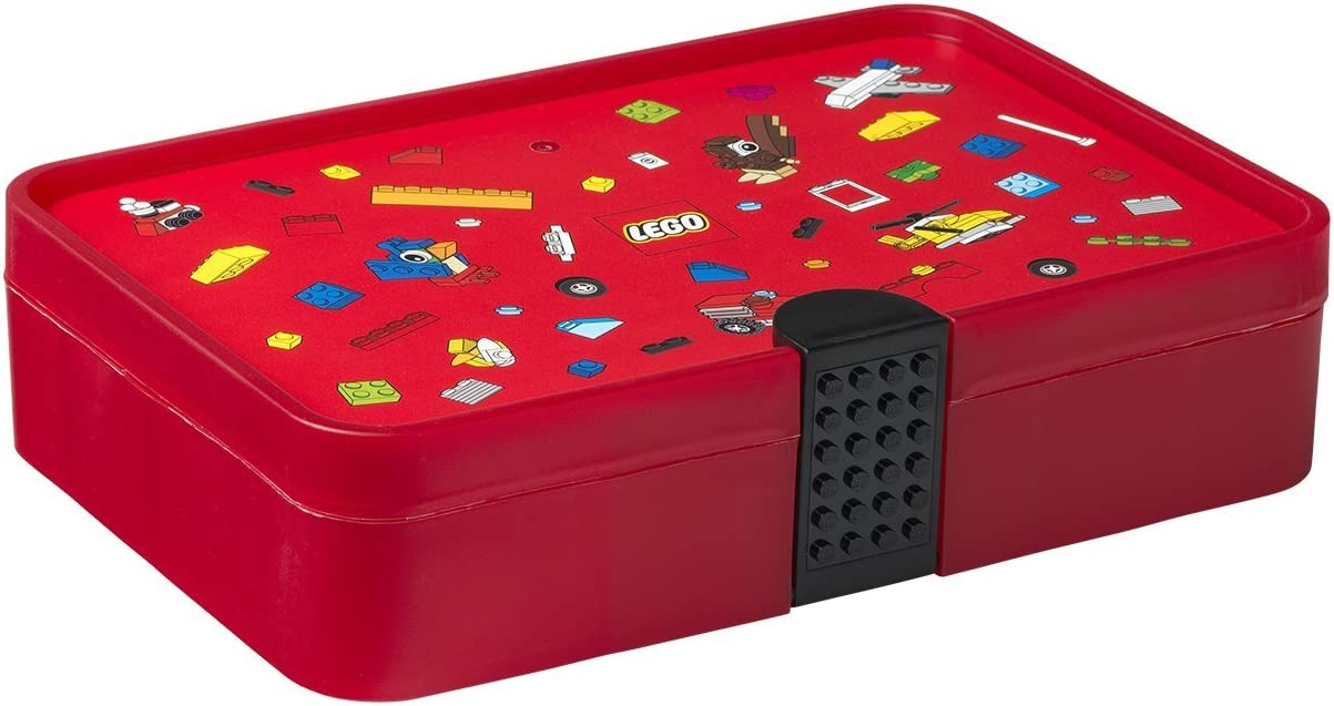 Room Copenhagen Lego Iconic-Caja clasificadora, Color Rojo ...