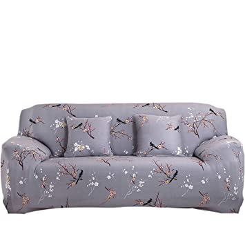 Uxcell Stretch Sofa Slipcover Sofa Covers Chair Covers 4 Seater Protectors Couch Covers Featuring Soft Form