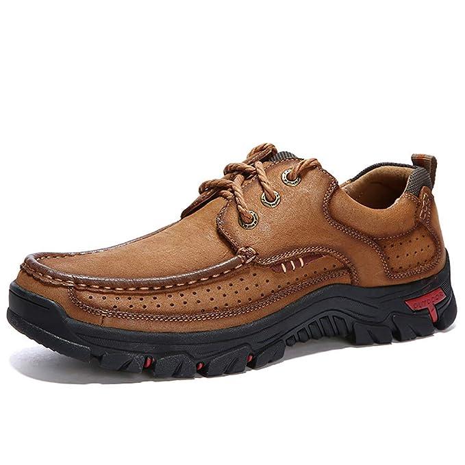 FHTD Zapatillas de senderismo para hombre Zapatillas de deporte para caminar al aire libre Senderismo al aire libre: Amazon.es: Ropa y accesorios