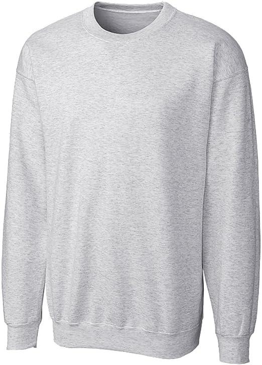 Large Clique Basic Big Boys Comfortable Fleece Sweatshirt Natural