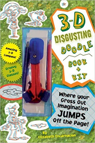 Amazon Com 3 D Disgusting Doodles Book Kit Where Your Gross Out