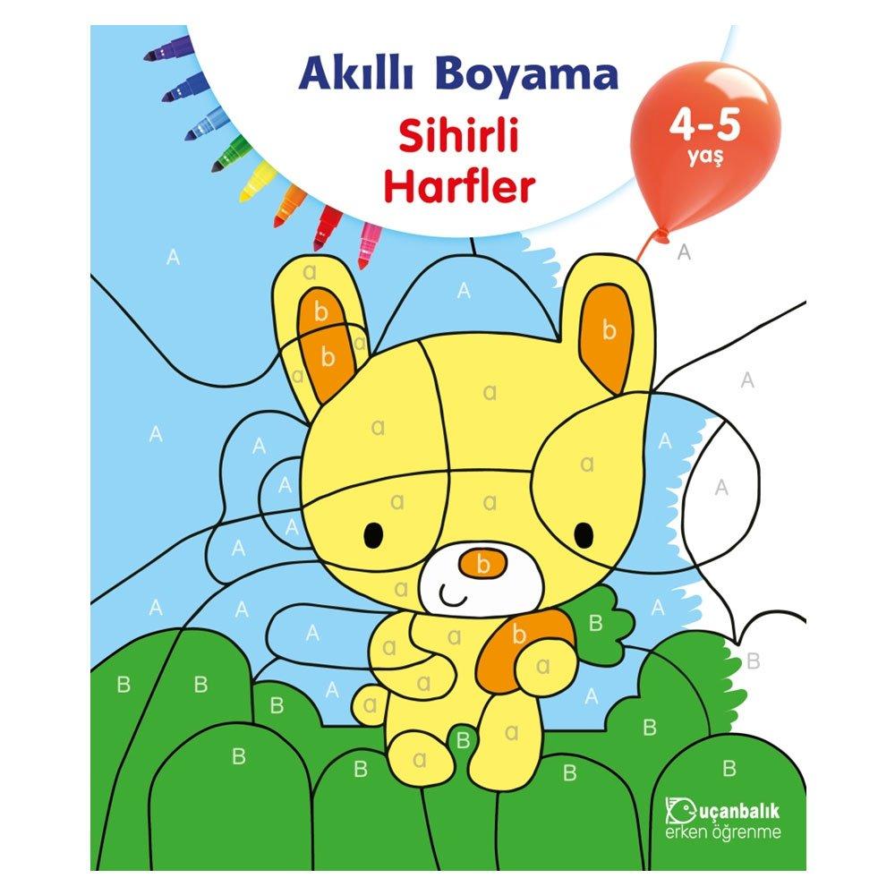 Akilli Boyama Sihirli Harfler 4 5 Yas Collective