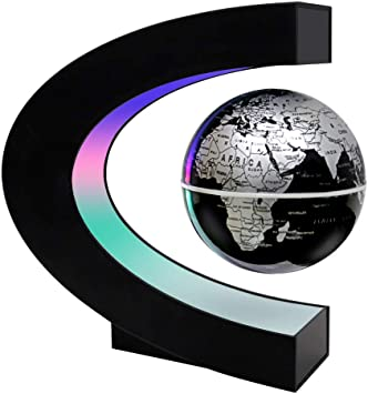 MOKOQI Magnetic Levitation Floating Globe Mysteriously Suspended in on