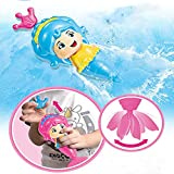 iRunning Mermaid Bath Toy, Wind Up Swimming Baby Bathtub Toy for Kids and Toddlers ( 1 Pack, Random Color)