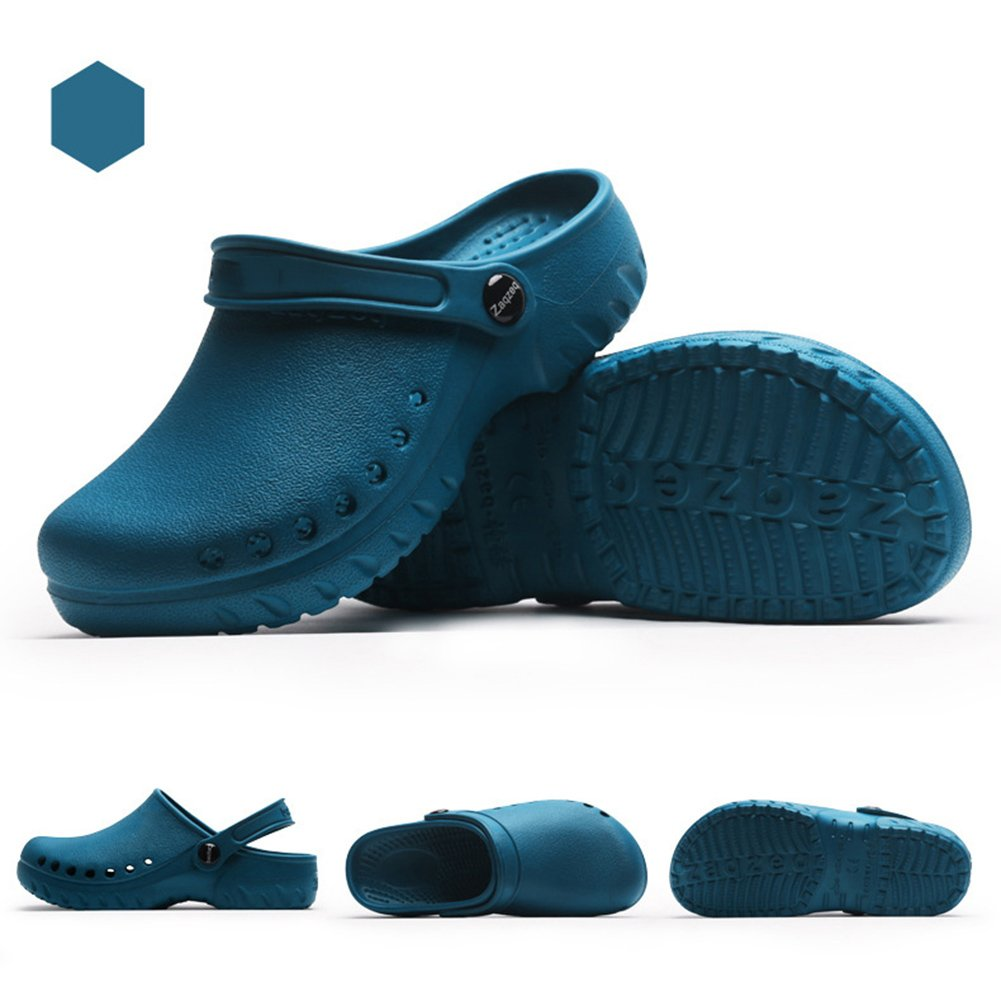 Amazon.com | fereshte Womens Classic Garden Clogs Shoes Heathcare Nursing Slipper | Mules & Clogs
